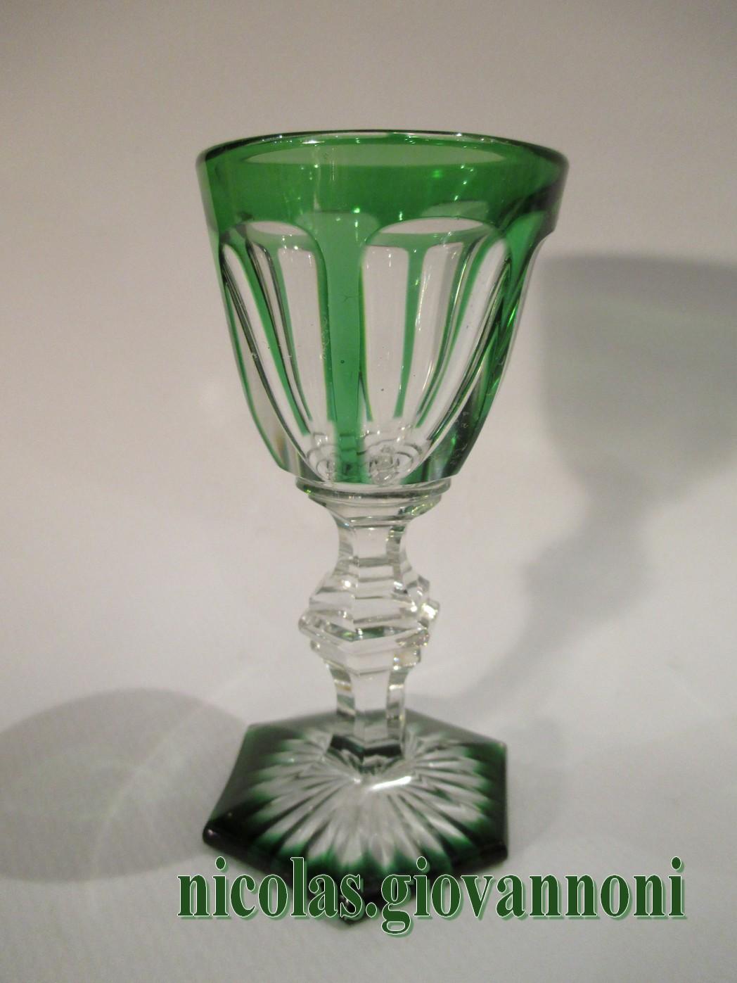 Service liqueurs vert harcourt baccarat cristal catalogue cristal - Service harcourt baccarat ...