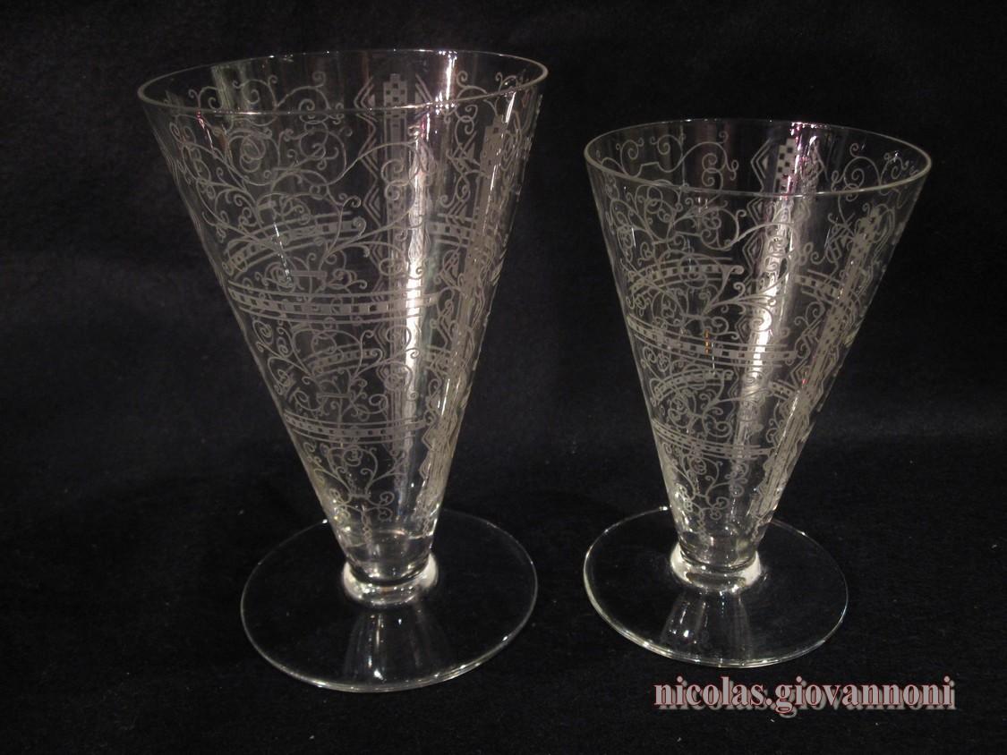 14 verres eau 14 vin lido baccarat cristal catalogue cristal - Verre de cristal prix ...