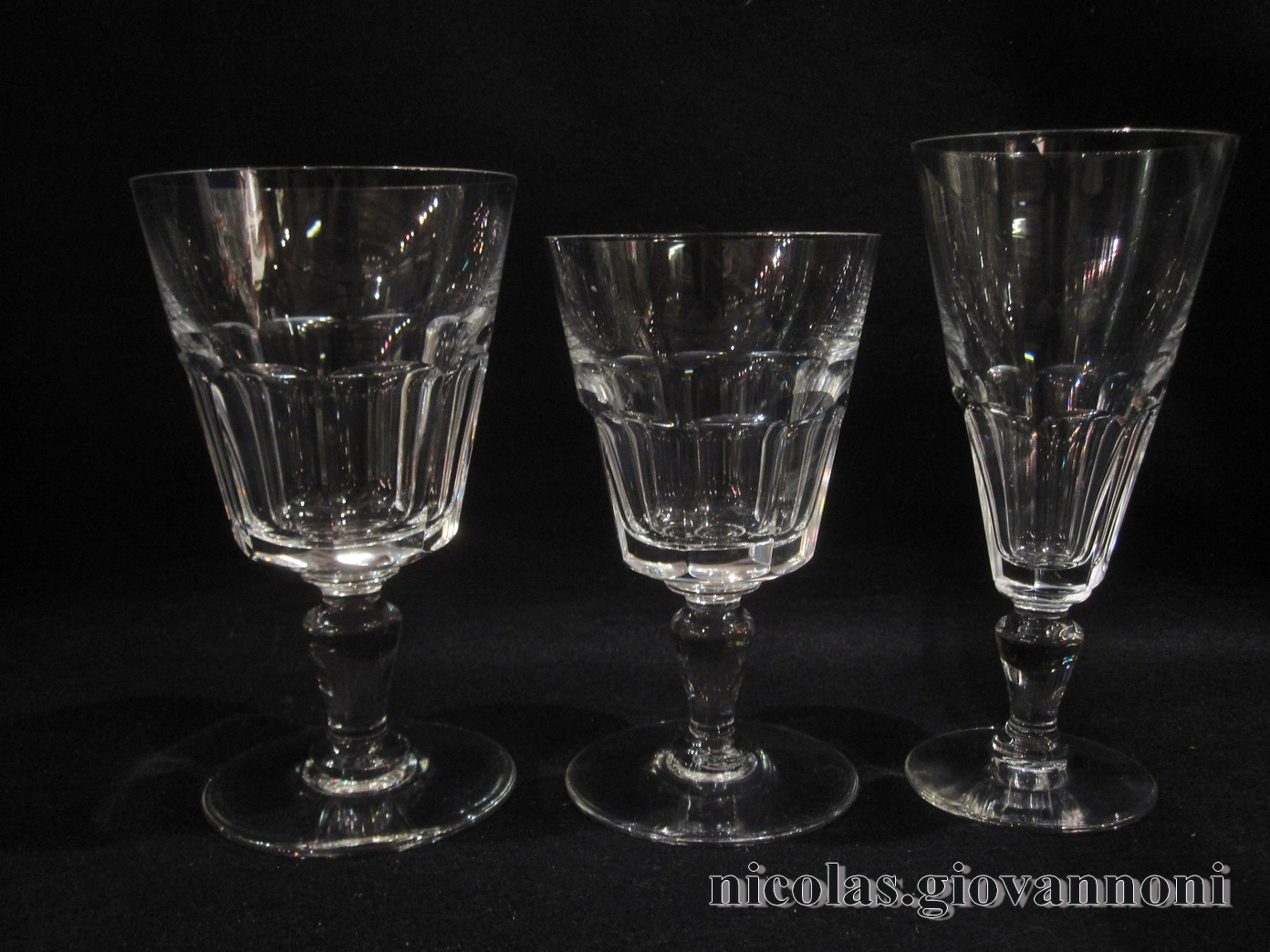 29 verres missouri baccarat cristal catalogue cristal de france nicolas giovannoni. Black Bedroom Furniture Sets. Home Design Ideas