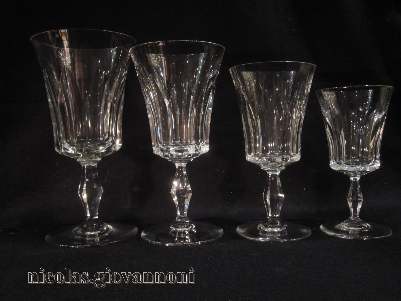 48 verres 2 carafes 1 broc polignac baccarat cristal catalogue cristal de france. Black Bedroom Furniture Sets. Home Design Ideas