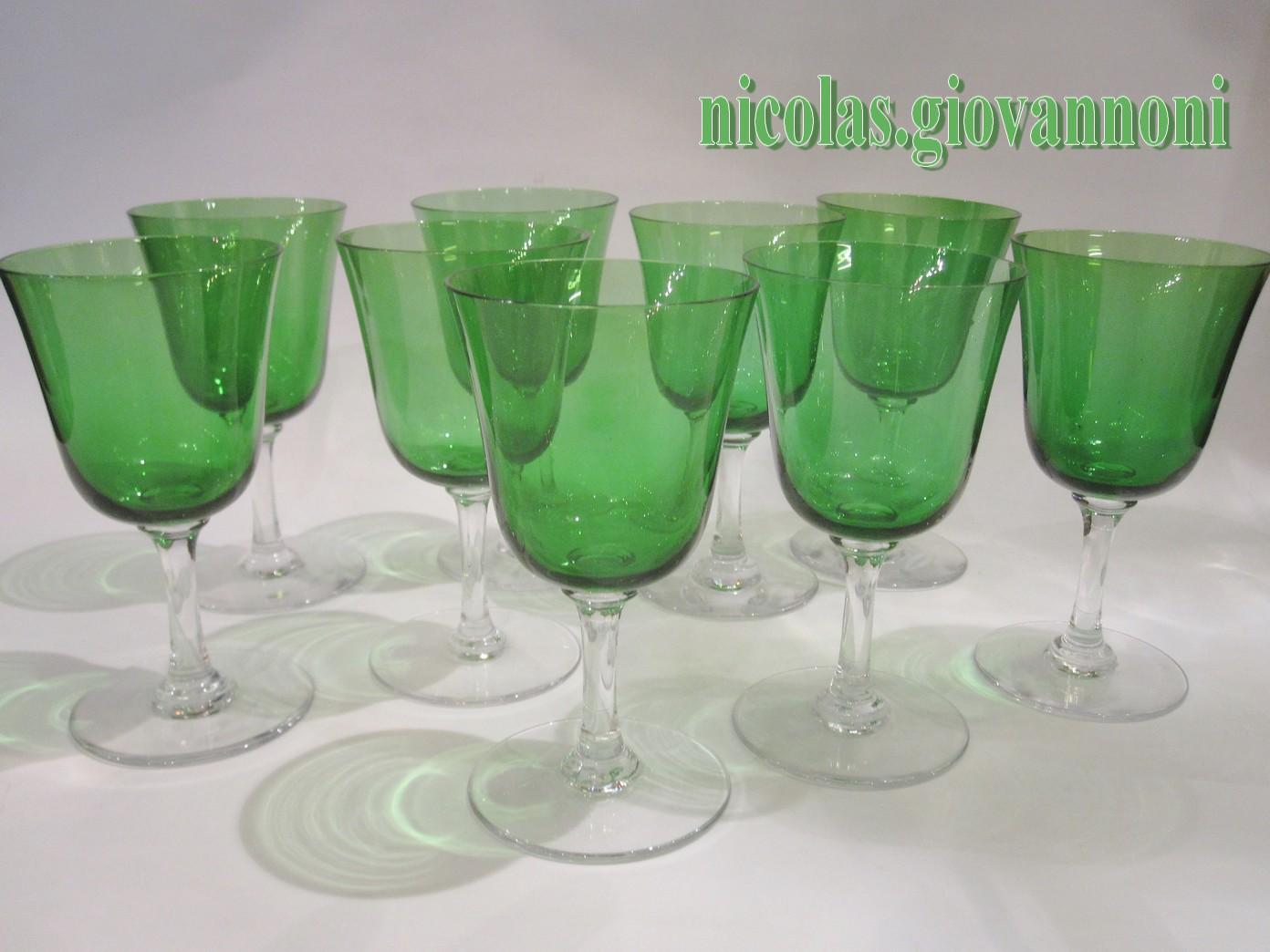 verre a vin cristal de sevres