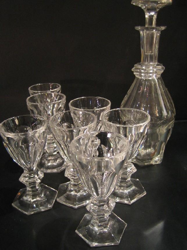 Service liqueurs harcourt baccarat cristal catalogue cristal de f - Service harcourt baccarat ...