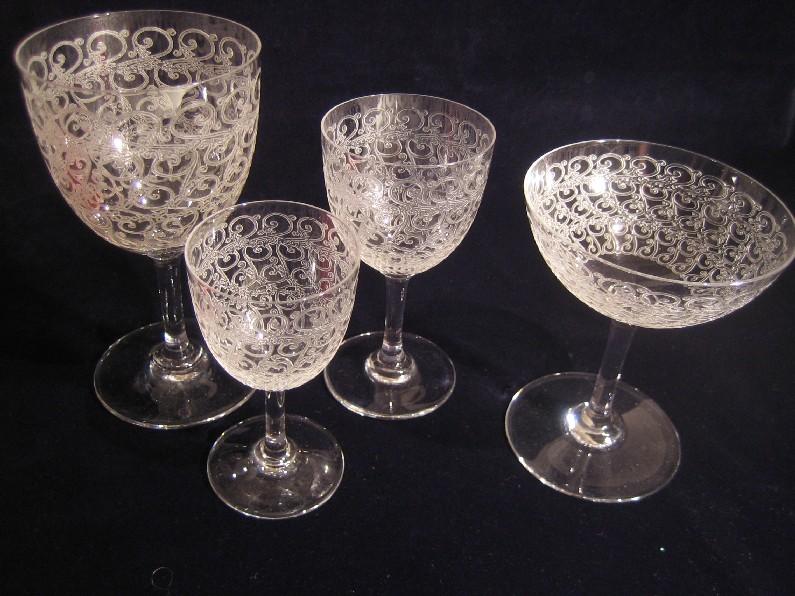 Mod le rohan baccarat cristal catalogue cristal de france nicolas g - Cristal de baccarat ancien ...