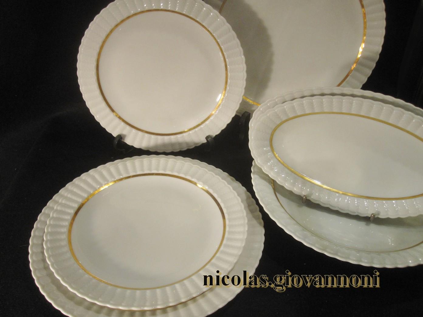 service 45 pi ces valenciennes bernardaud cie porcelaine catalogue cristal de. Black Bedroom Furniture Sets. Home Design Ideas