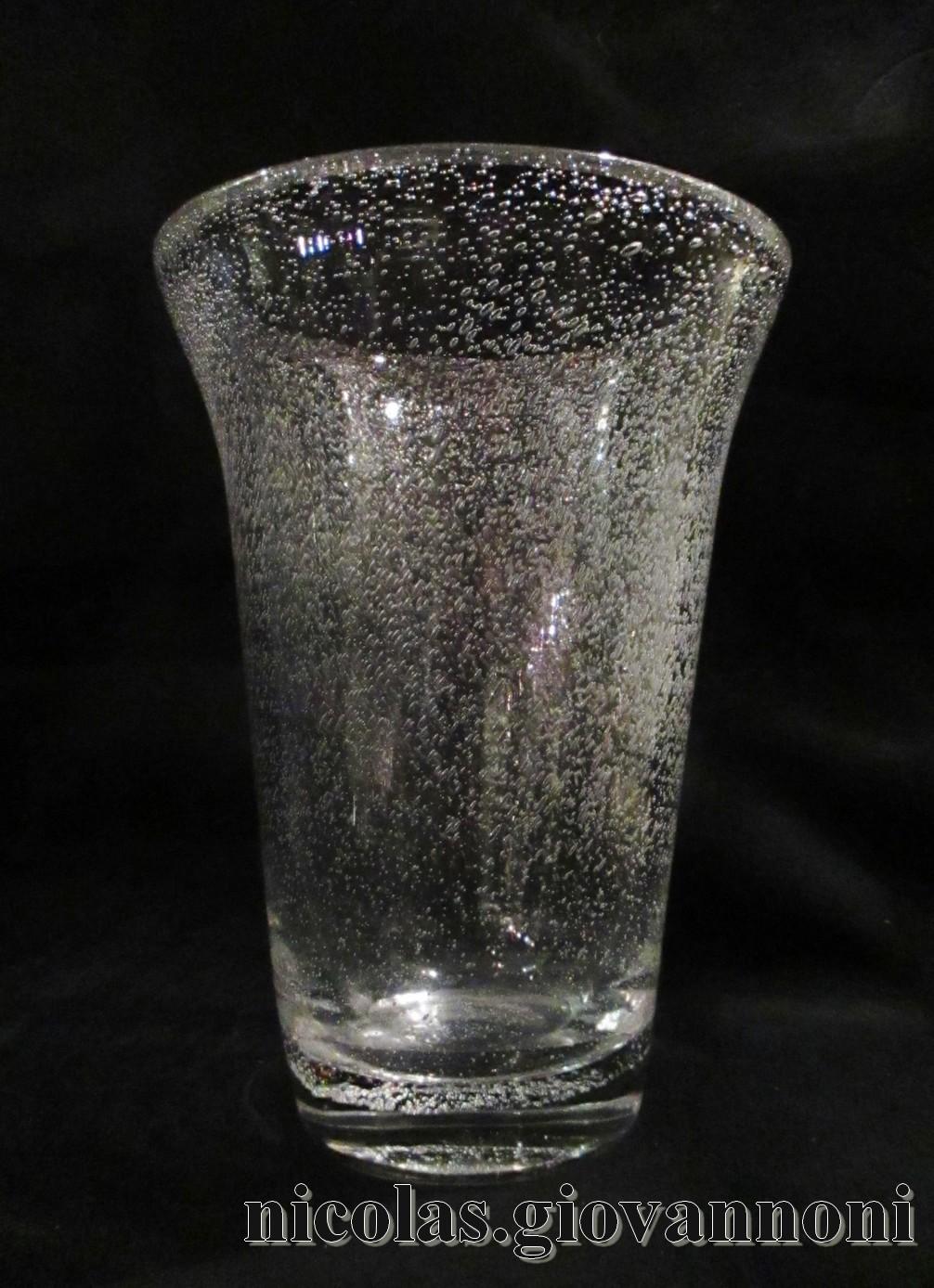 vase 34 5 cm verre bull 1930 daum vases catalogue cristal de france nicolas giovannoni. Black Bedroom Furniture Sets. Home Design Ideas