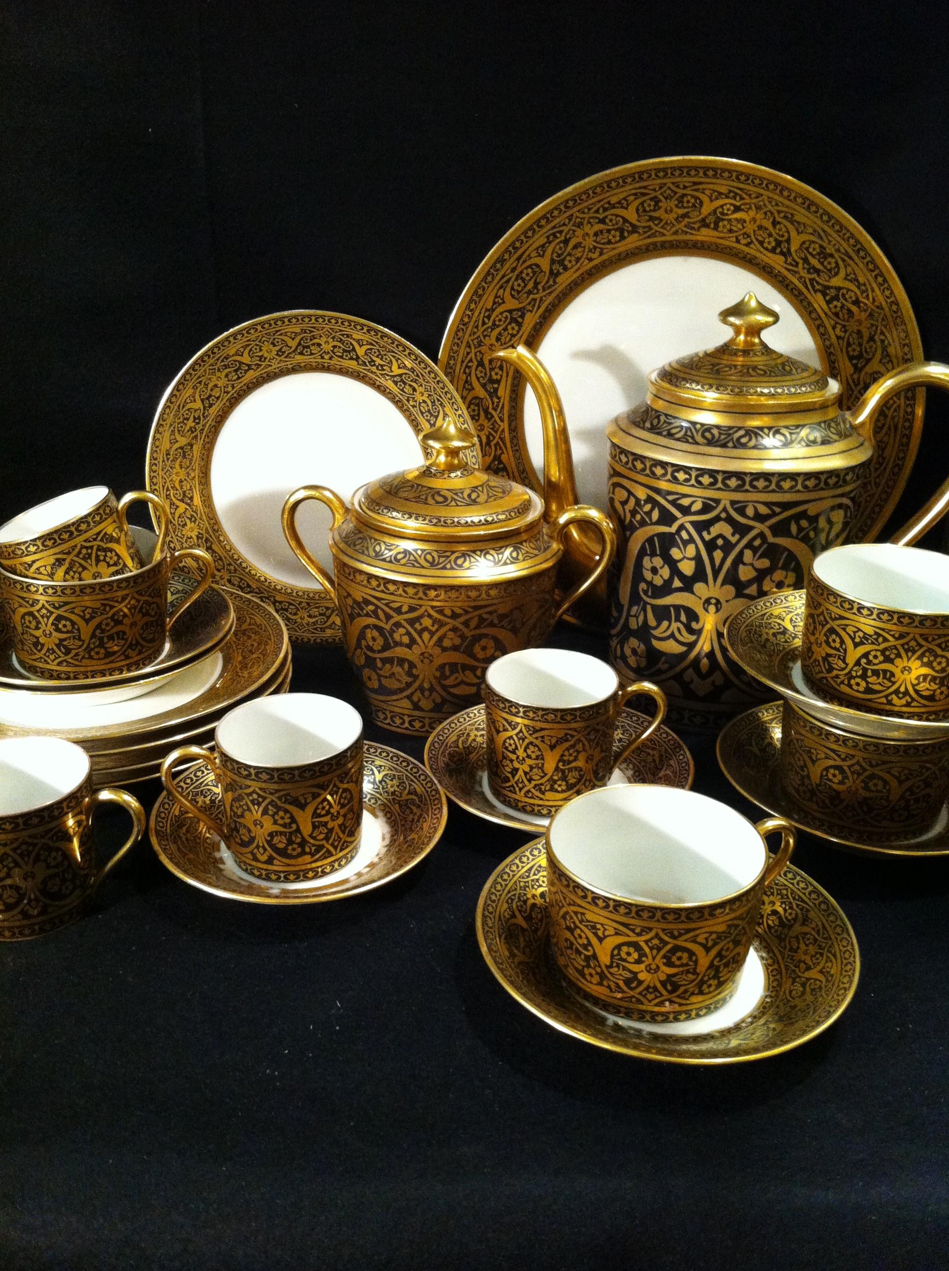 service th caf dessert arts crafts legrand limoges porcelaine catalogue. Black Bedroom Furniture Sets. Home Design Ideas