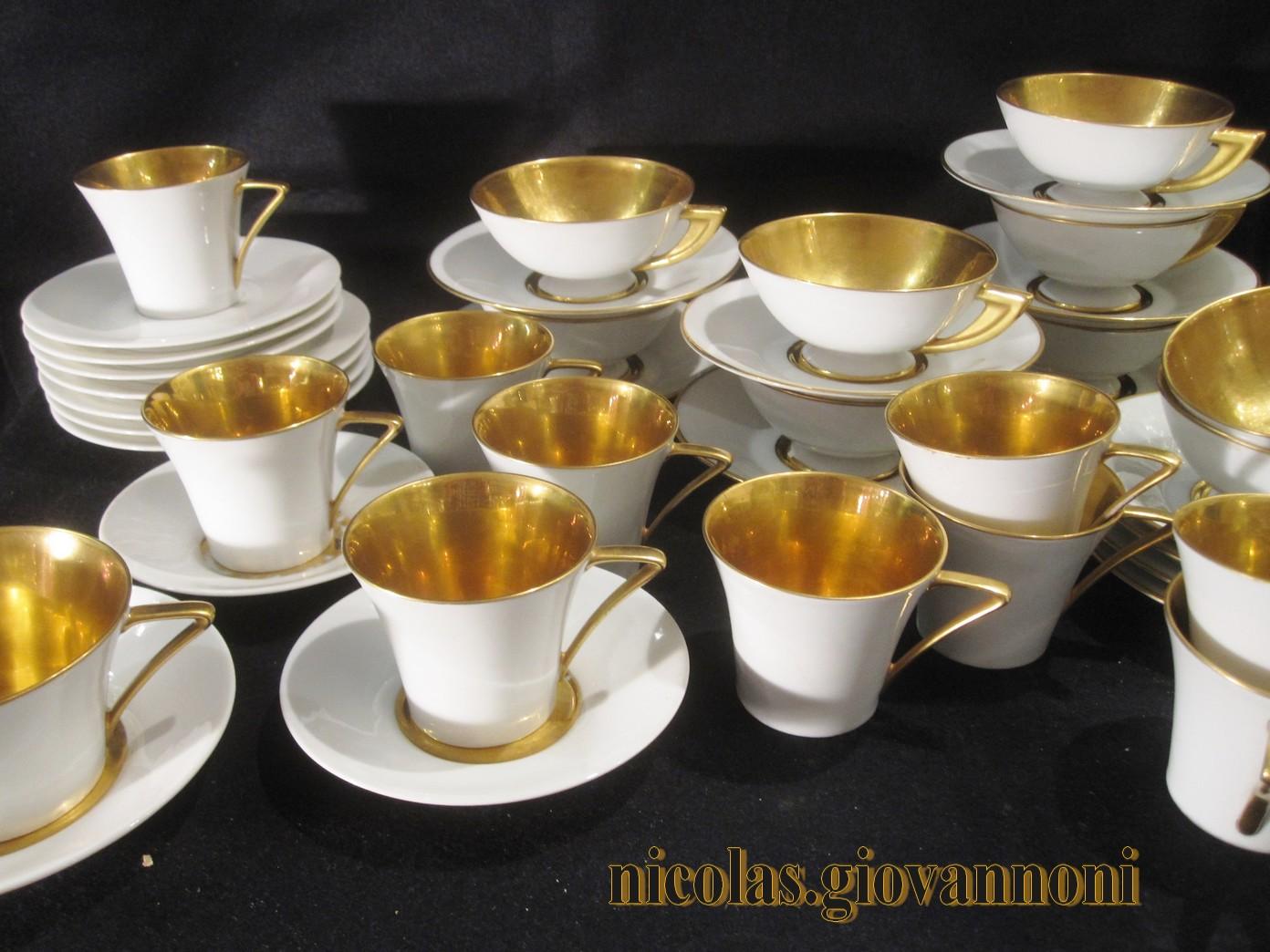 tasses 1930 int rieur or legrand limoges porcelaine catalogue cristal de france. Black Bedroom Furniture Sets. Home Design Ideas
