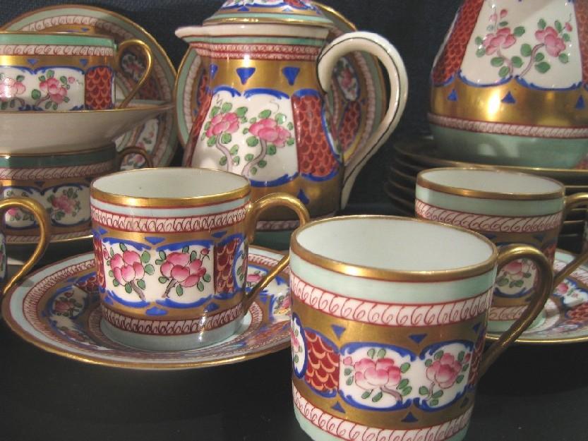 M f limoges porcelaine catalogue cristal de france for Service de table chinois