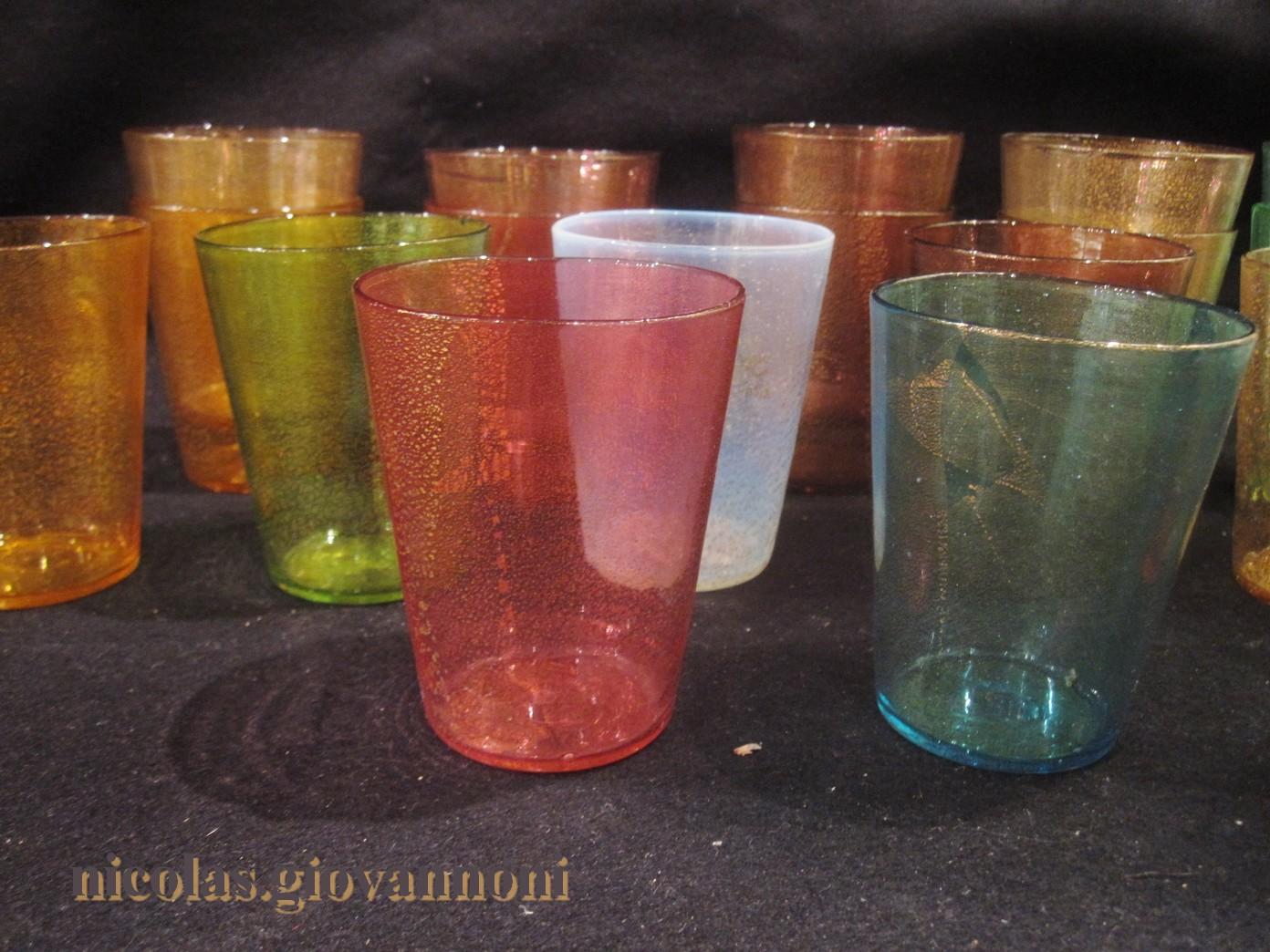 verre a eau murano
