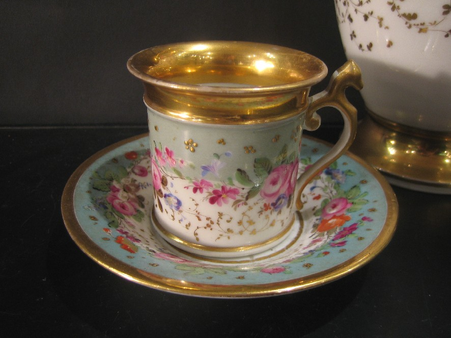service caf ancienne manufacture royale porcelaine catalogue cristal de france. Black Bedroom Furniture Sets. Home Design Ideas