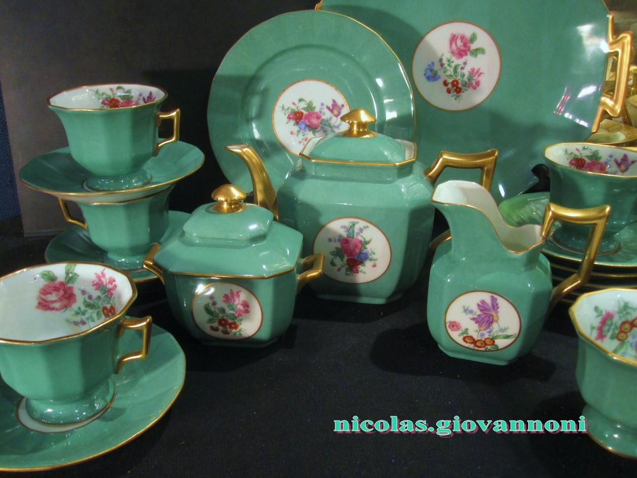 service caf dessert raynaud limoges porcelaine catalogue cristal de france. Black Bedroom Furniture Sets. Home Design Ideas