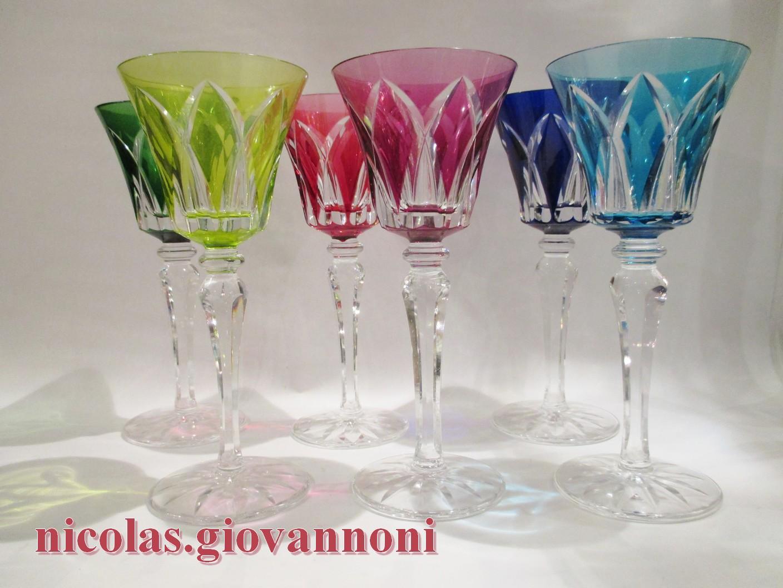 Verre Cristal Saint Louis Camargue