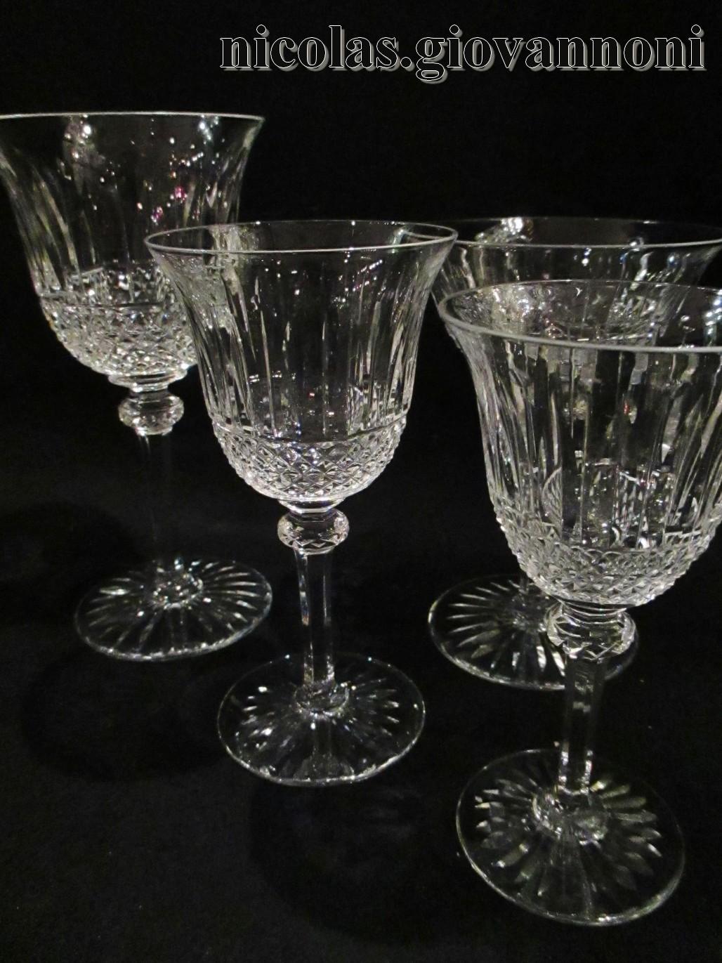 service 48 verres 12x4 tommy saint louis cristal. Black Bedroom Furniture Sets. Home Design Ideas