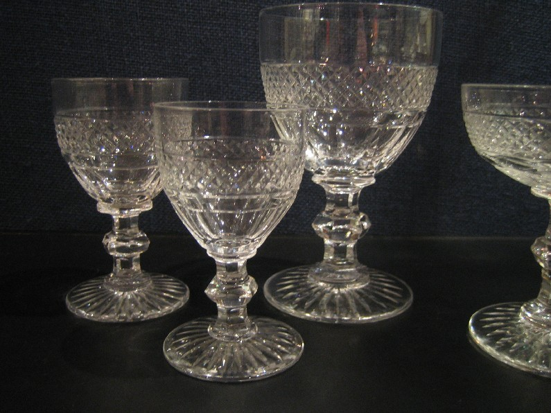 Verre Cristal Saint Louis Trianon