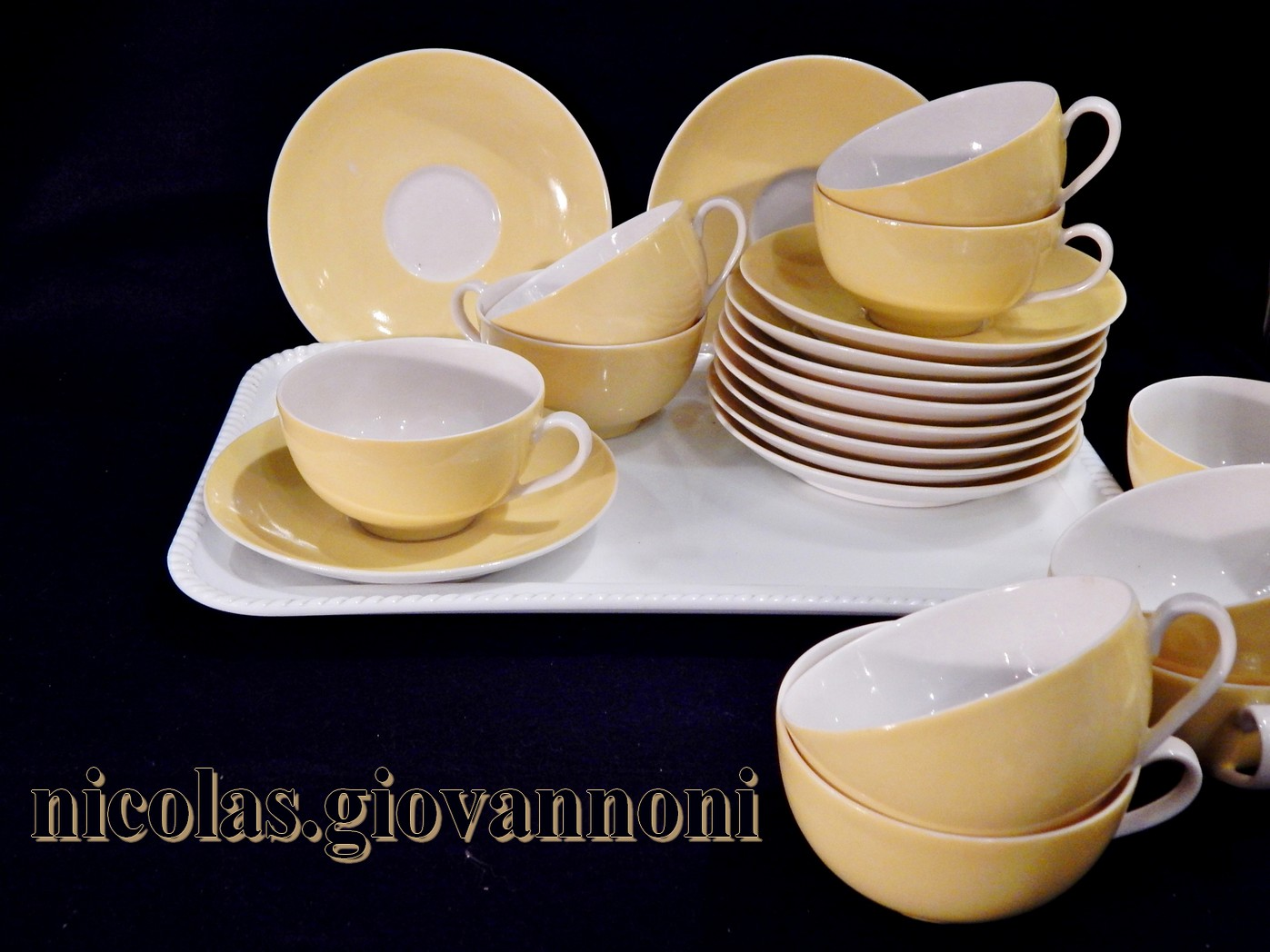 tasse thé porcelaine