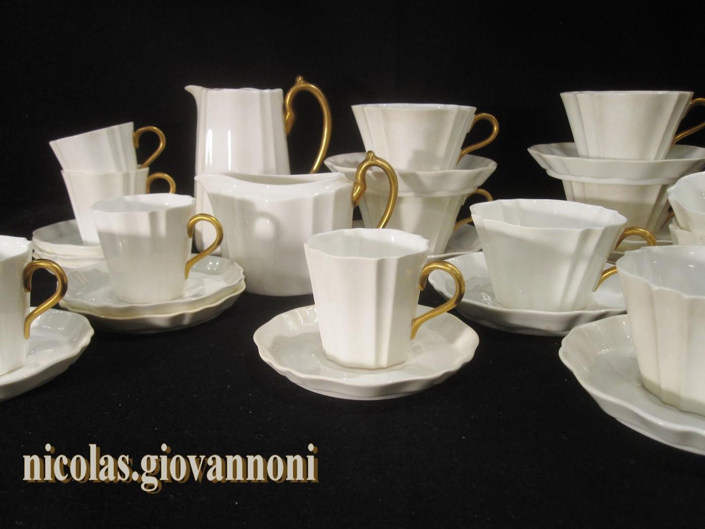 Service th et caf creamware wedgwood fa ence - Service de table villeroy et boch ...